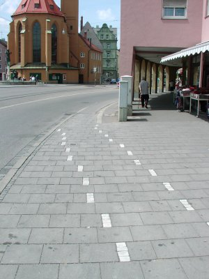 Bicycle lane Jakober Tor