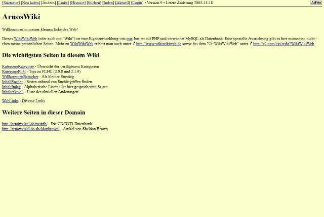 Website December 2005