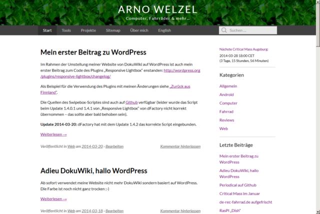 Website March 2014