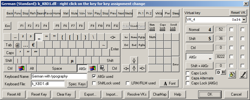 Customized keyboard layouts in windows arno welzel for En keyboard layout