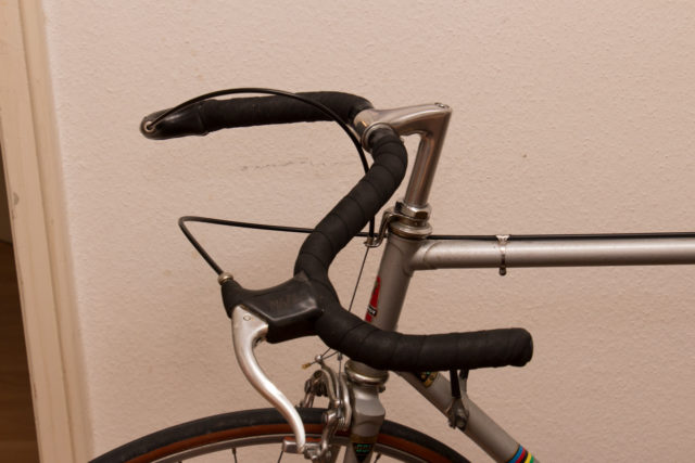 Peugeot PX-10, final modification with moustache handlebar