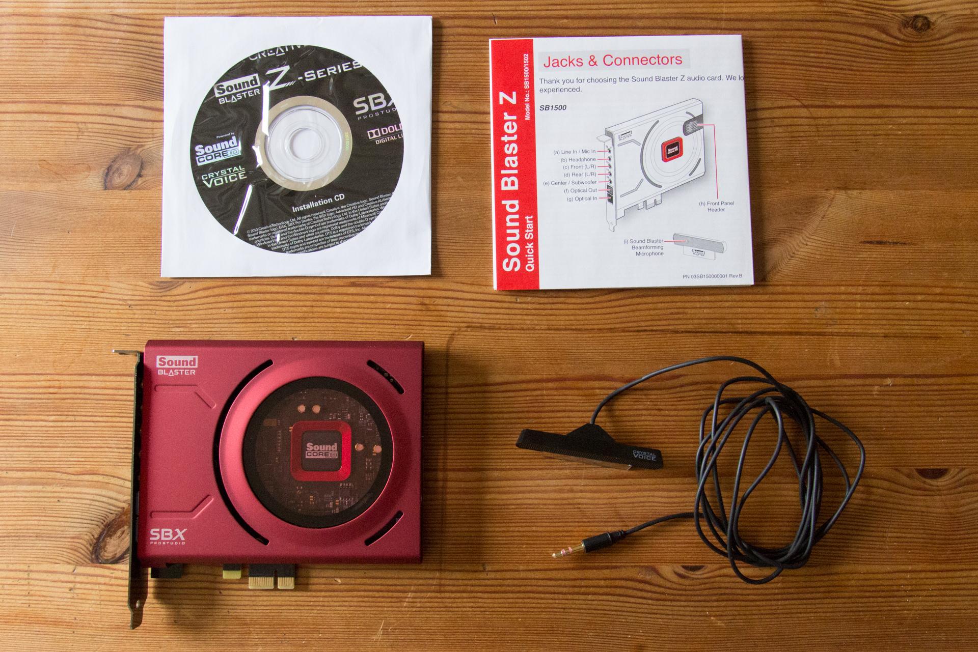 Creative Sound Blaster Z   Arno Welzel