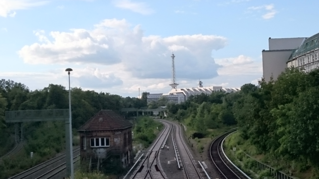 Funkturm and ICC in Berlin