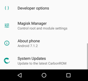 CarbonROM on the Sony Xperia Z3 Compact   Arno Welzel