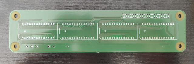 HDSP-211x for Raspberry Pi, first prototype