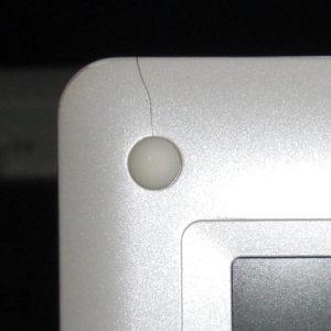 Samsung NC10, Riss am Gehäuse