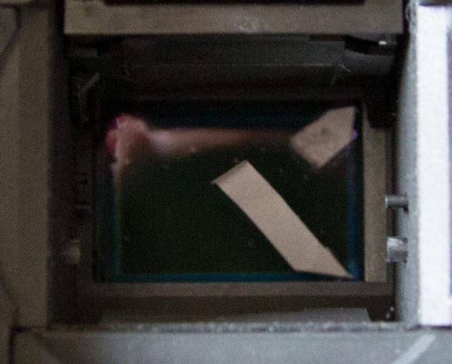 EOS 40D Sensorfilm, zweiter Versuch