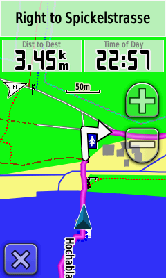 Garmin Oregon 450 Navigation