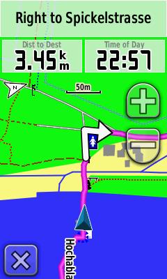 Garmin Oregon 450 Navigation