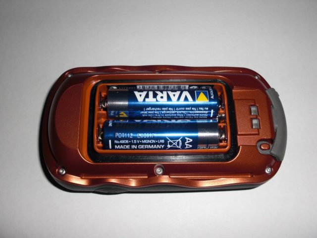 Garmin Oregon 450 Batteriefach
