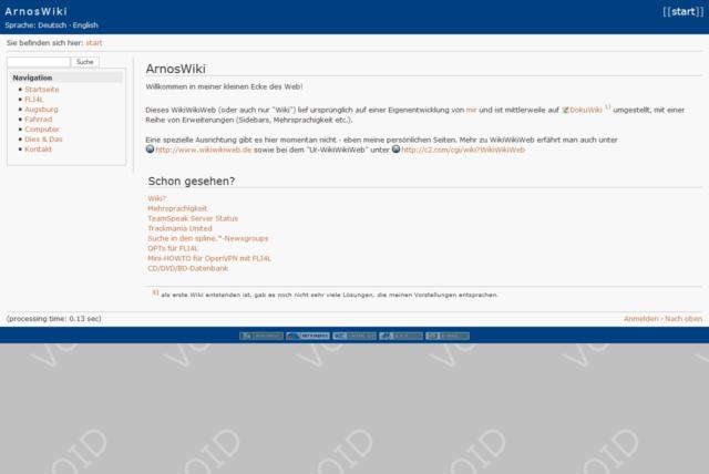 Website Juni 2007