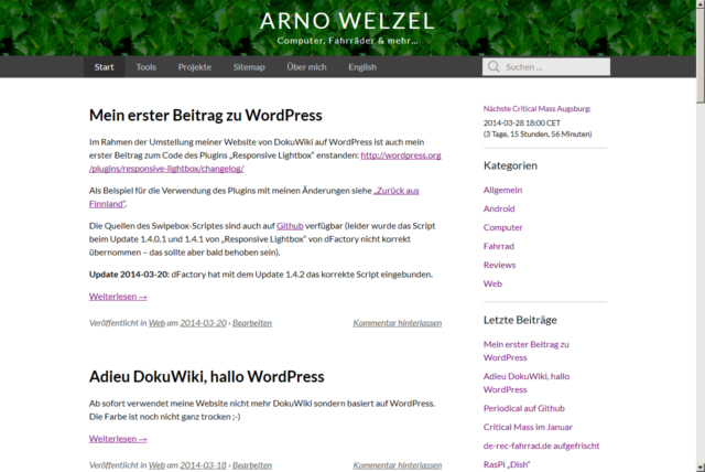 Website März 2014