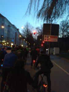 Critical Mass Augsburg, März 2014