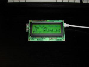 LCD2USB Anzeige von FLI4L