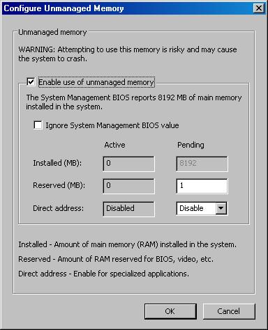 Ramdisk Plus 9 Konfiguration