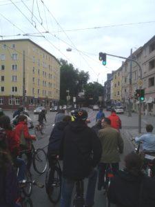 Critical Mass Augsburg, Mai 2014