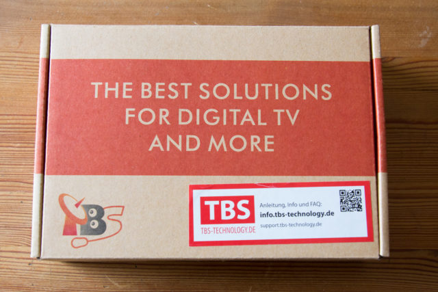 TBS6922, Verpackung
