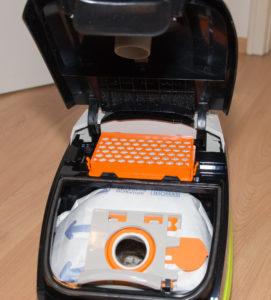 Thomas Crooser 2.0, Innenraum mit HEPA-Filter