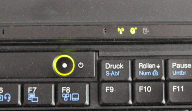 Lenovo X220 aktive Bluetooth-Anzeige
