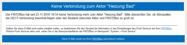 Fritz!OS 6.69-42088 Verbindungsverlust Comet DECT