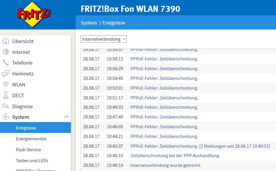 Dsl Störungen Bei Der Telekom Arno Welzel