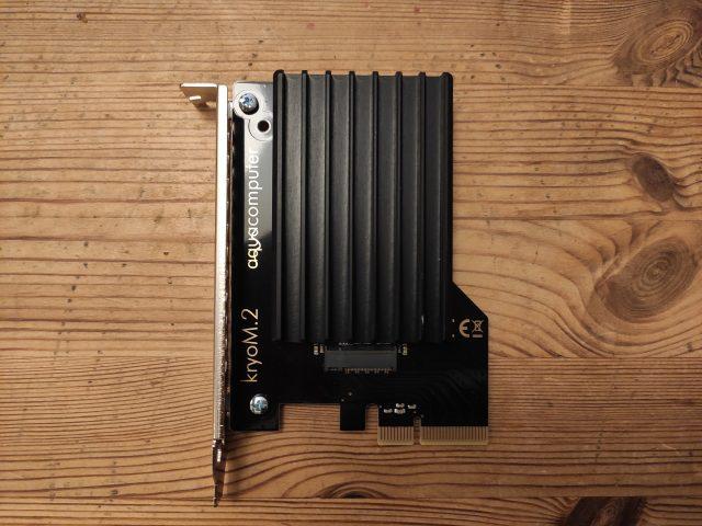 "NMVE auf PCIe-Adapter ""kryoM.2"""