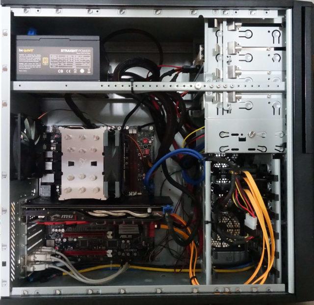 PC-Aufbau mit Xeon E5, August 2020