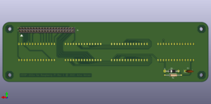 HDSP-211x für Raspberry Pi, Rückseite